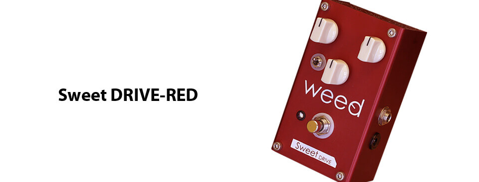 weed effector Sweet DRIVE-RED
